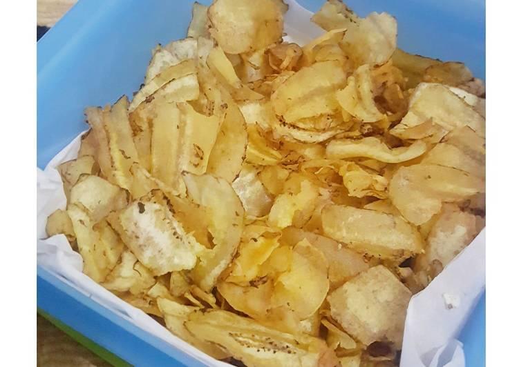 Keripik pisang renyah dan gurih
