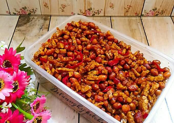 Resep Sahur Mudah Kering Tempe kacang