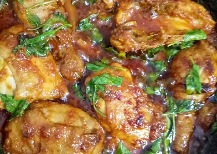 Ayam Bumbu Bali + Kemangi