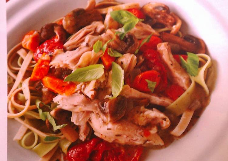 Step-by-Step Guide to Prepare Favorite Herbed Chicken and Mushrooms