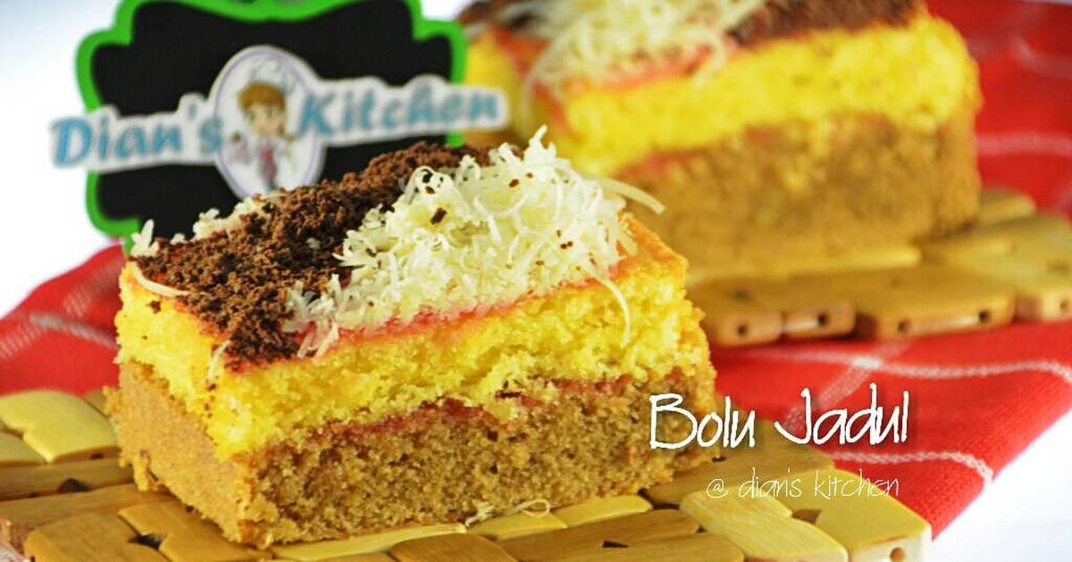 Cake Bolu Jadul (tanpa emulsifier)