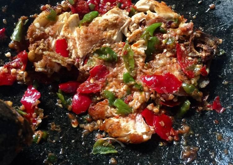 Ayam Penyet Debm Sederhana