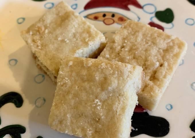 Recipe: Delicious Scottish Shortbread Cookies