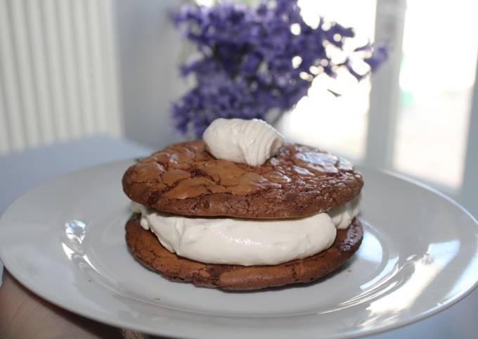 Sandwich Cookies Brownies
