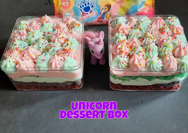 UNICORN DESSERT BOX 🌈