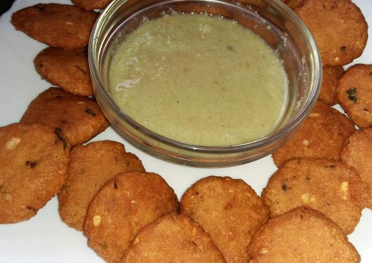 Simple Way to Prepare Perfect Crispy daal bhajias #Mykidsfavouritedishcontest