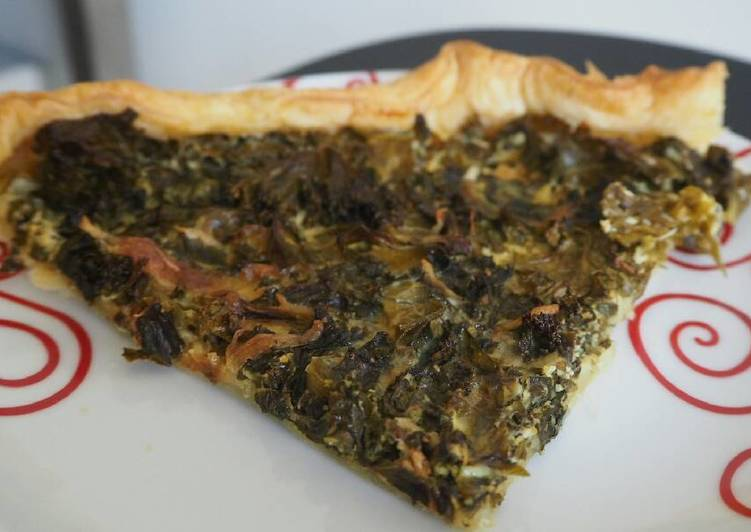 Tarte choux kale