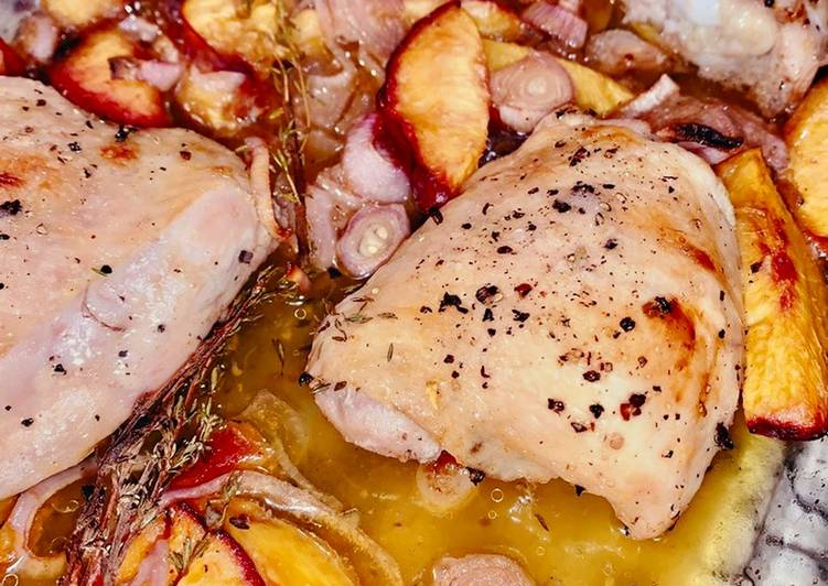25 Minute Steps to Make Any Night Of The Week Roasted Balsamic Chicken