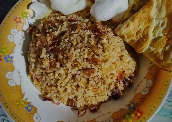 Nasi Goreng Sambal Terasi Super Simpel a.k.a Sederhana