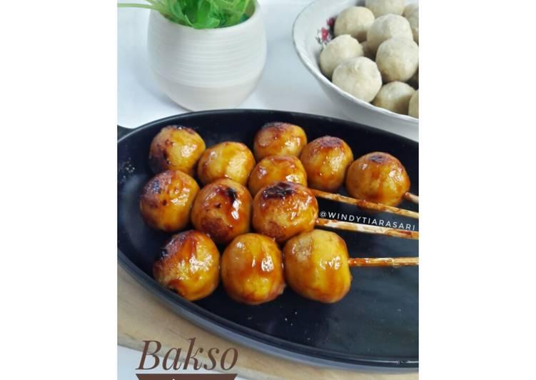 Cara membuat Bakso Tempe Bakar (rendah kalori, cocok utk diet)