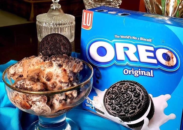 OREO Cadbury Ice-cream