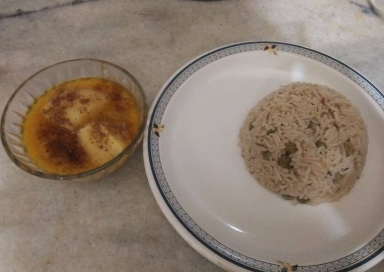 Easiest Way to Make Perfect Matar pulao and aloo gosht