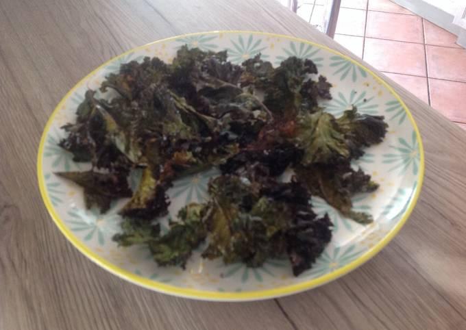 Le Chou kale pour l apero