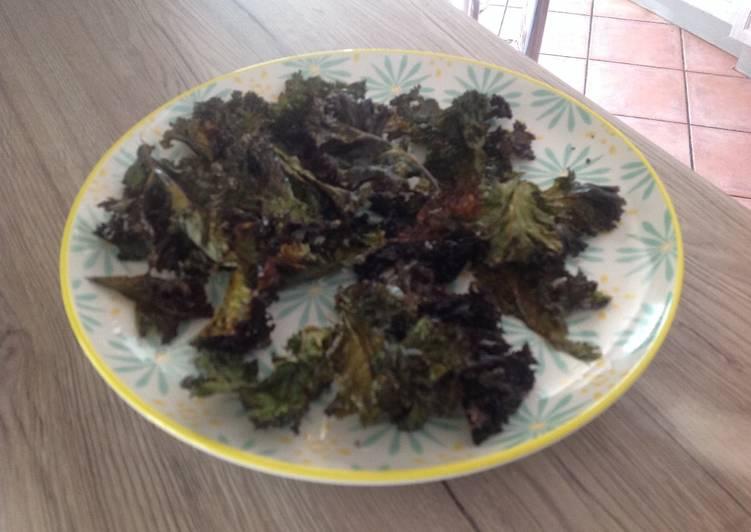 Recette Des Le Chou kale pour l apero