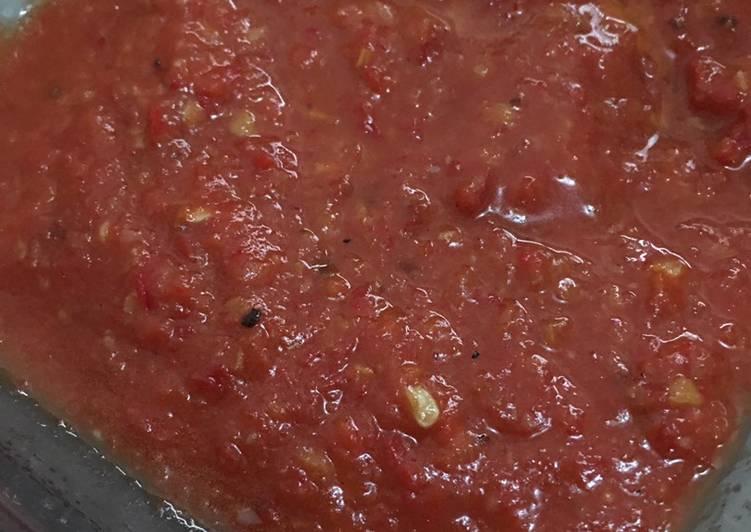 Sambal Tomat Mudah dan Enak
