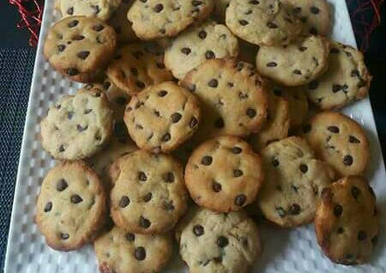 Soft and Chewy Chocolate Chip Cookies.# Christmas baking