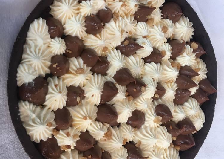 La Délicieuse Recette du Tarte crémeux chocolat chantilly au sirop d'érable