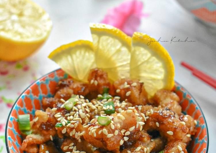 Health Chinese Lemon Chicken