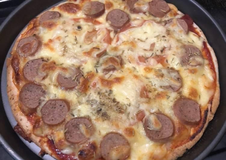 Cara Mudah Masak: Pizza 🍕  Enak