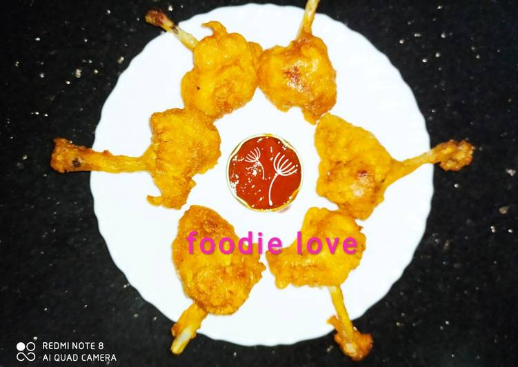Lollipop chicken - dry version