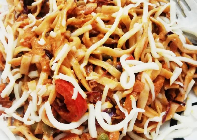 Easiest Way to Prepare Delicious Asian Veggie Noodles