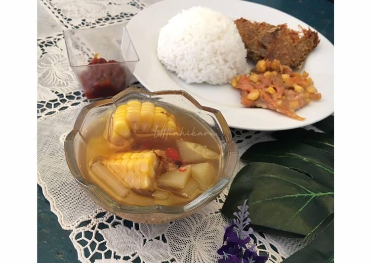 Sayur Asem Sunda plus Ikan Peda #SayurKesukaanIbu