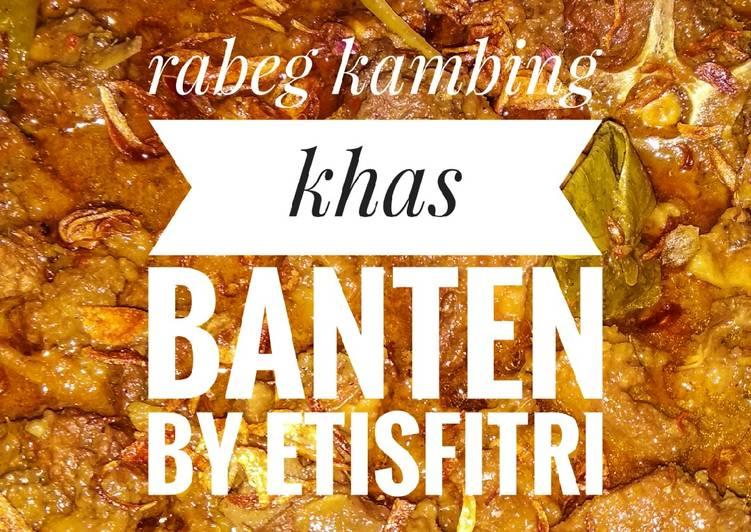 Rabeg kambing khas Banten