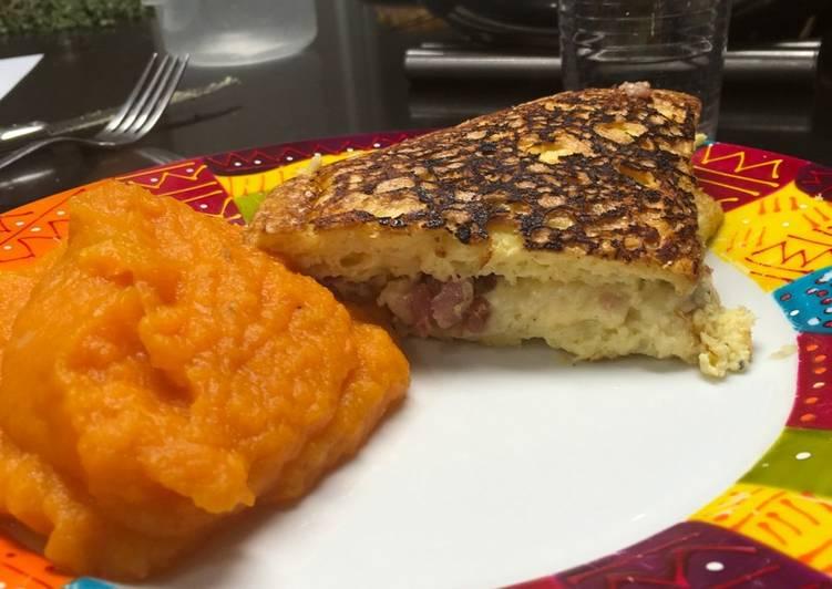 Omelette soufflée au fromage 🧀🥚🧀🥚🧀