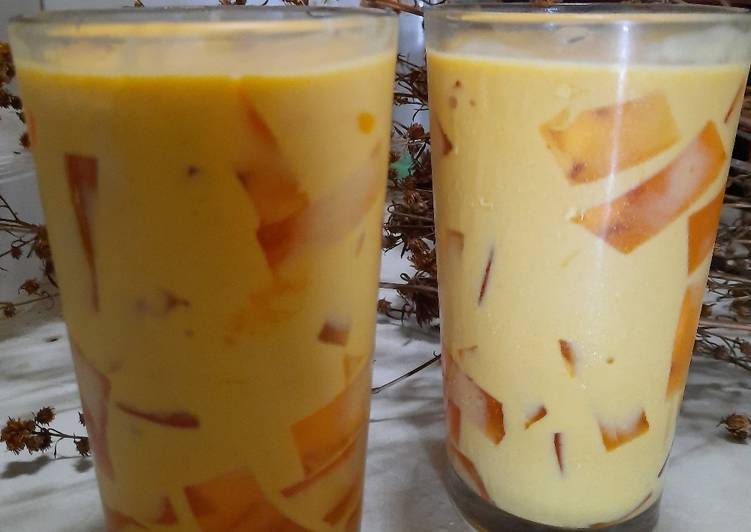 Ice Mango Jelly