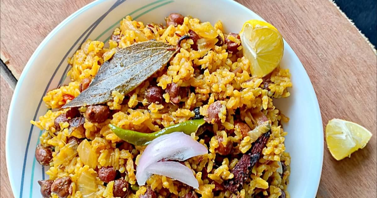 Chana masala pulao Recipe by Bobly Rath