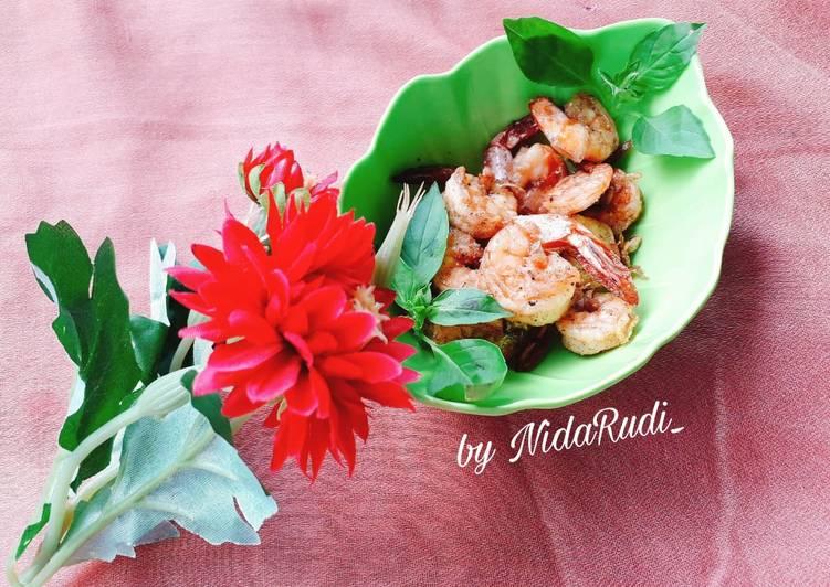 Resep Udang goreng simpel yang Bisa Manjain Lidah