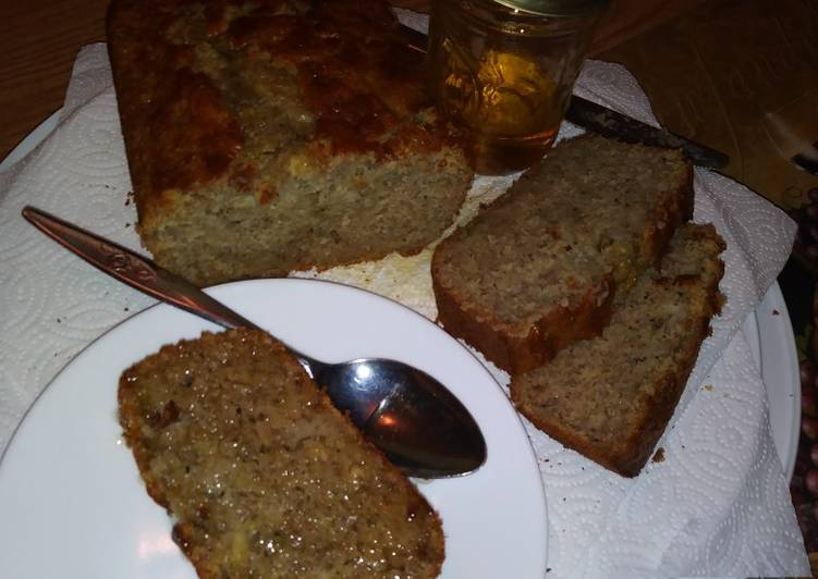 Step-by-Step Guide to Prepare Quick Cinnamon & Honey Zucchini Banana Bread
