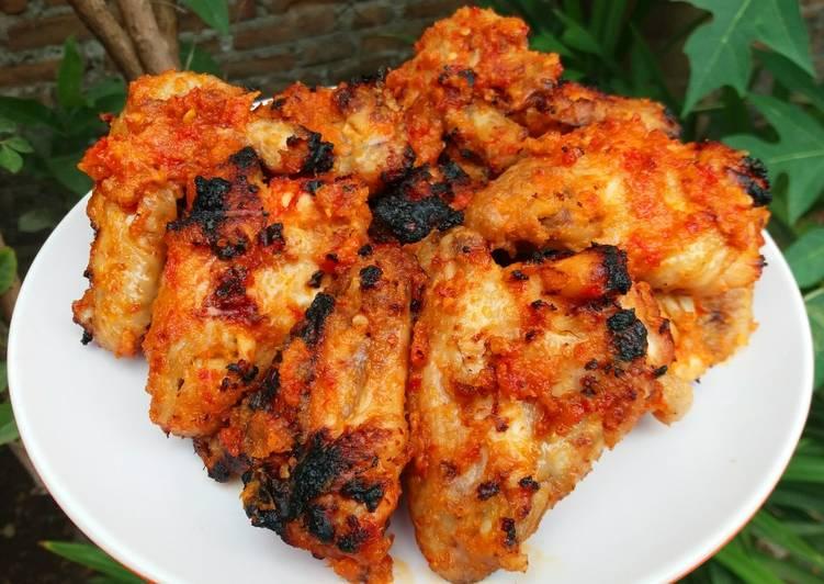 Resep Ayam Bakar Bumbu Merah, Enak Banget