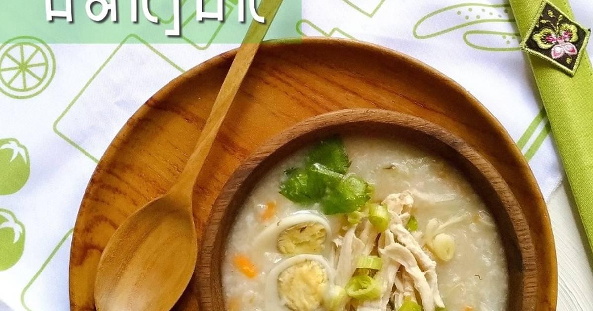 resepi bubur ayam korea sma jaten Resepi Bubur Nasi Ala Korea Enak dan Mudah