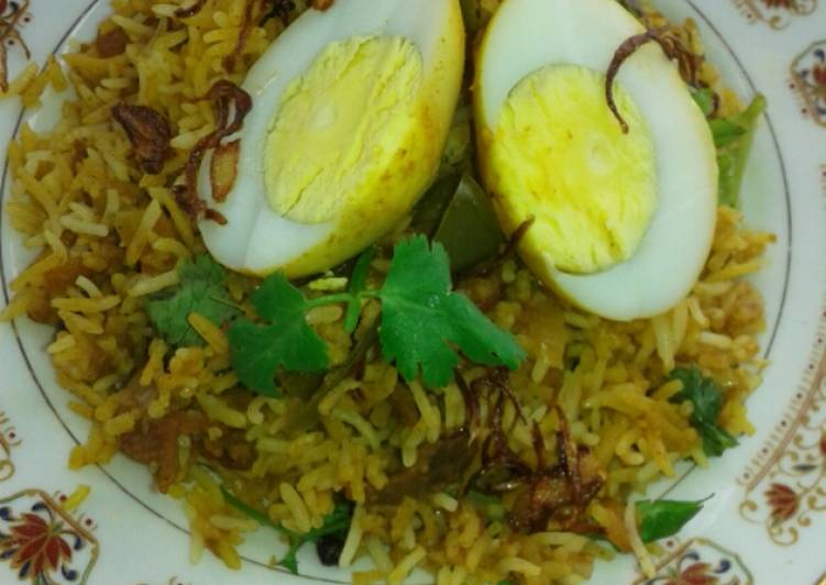 Nasi Briyani Beef