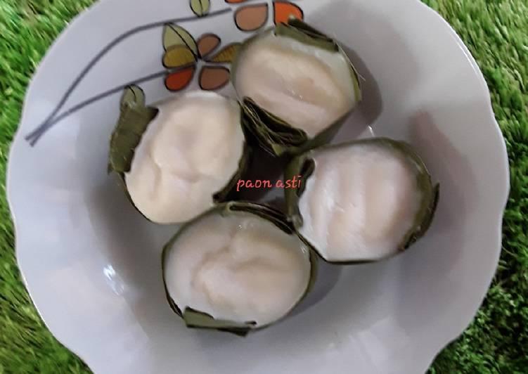 Kue lekong(kue bahan tepung beras dikukus) - cookandrecipe.com