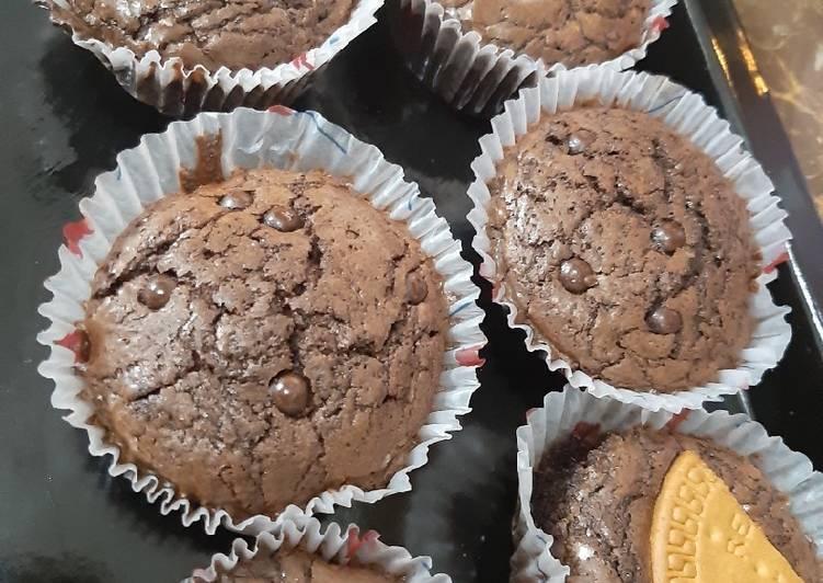 Brownies coklat moist-chewy