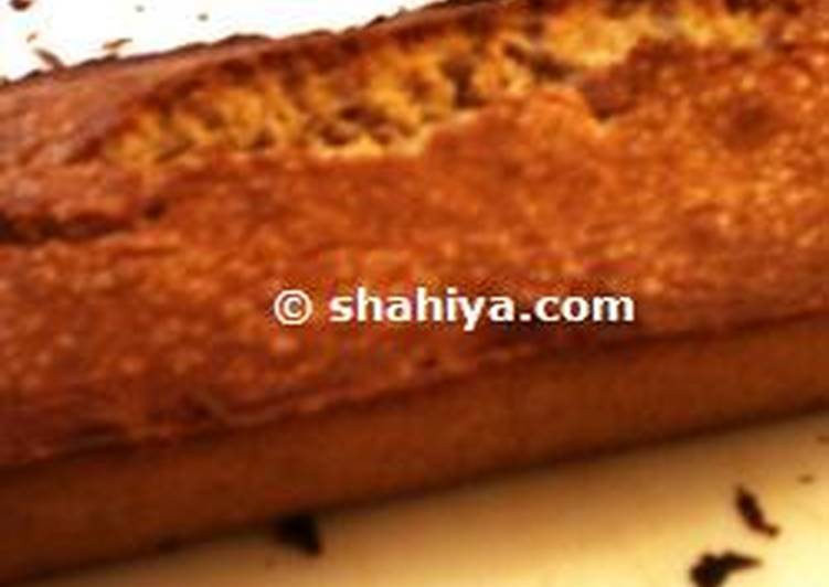 Cinnamon Cake with Orange Blossom Water