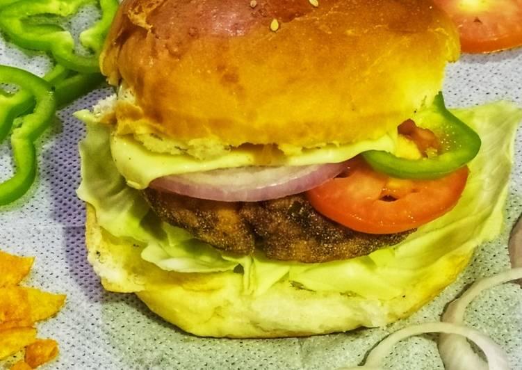 Steps to Make Favorite Chicken Burger