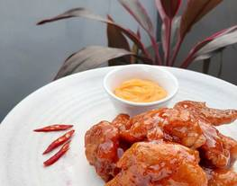 Spicy Fire Wings