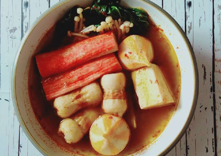 Home Made Suki kuah tomyam (Simpel)