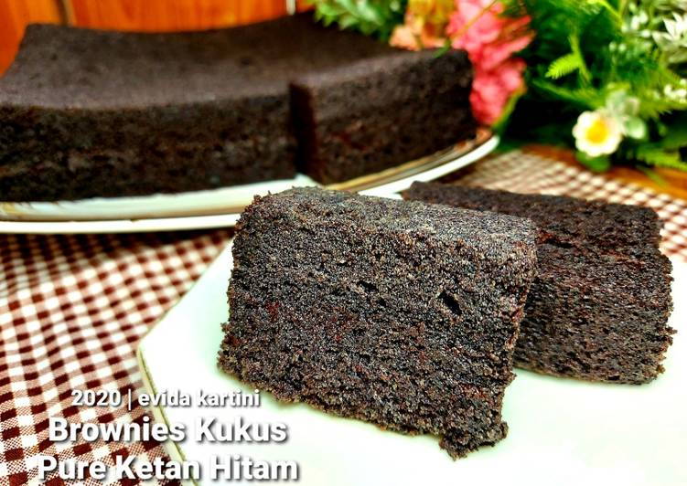 Brownies Kukus Pure Ketan Hitam - cookandrecipe.com