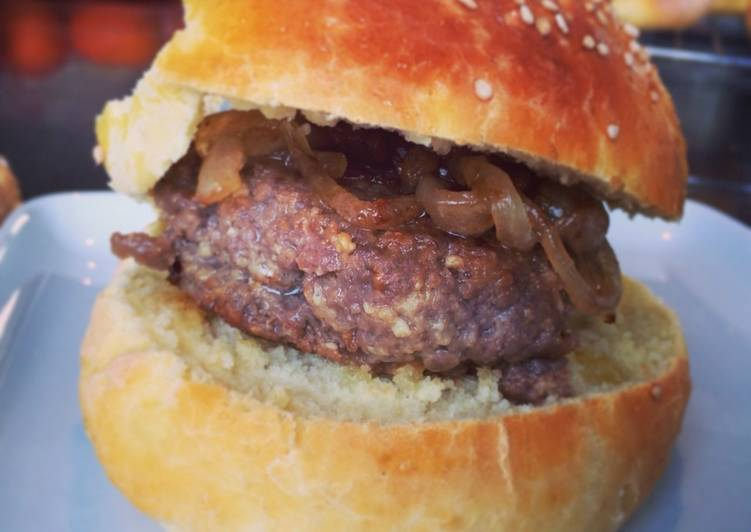 Miso Burger With Soy Sauce And Ginger Recipe By Miles Cookpad