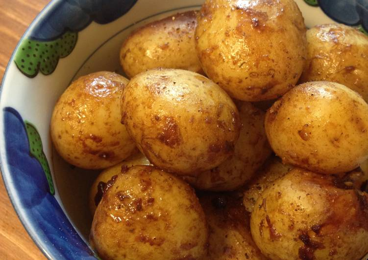 Braised New Potatoes