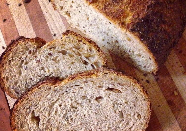 Sourdough Beer Bread (Schwarzbierbrot)