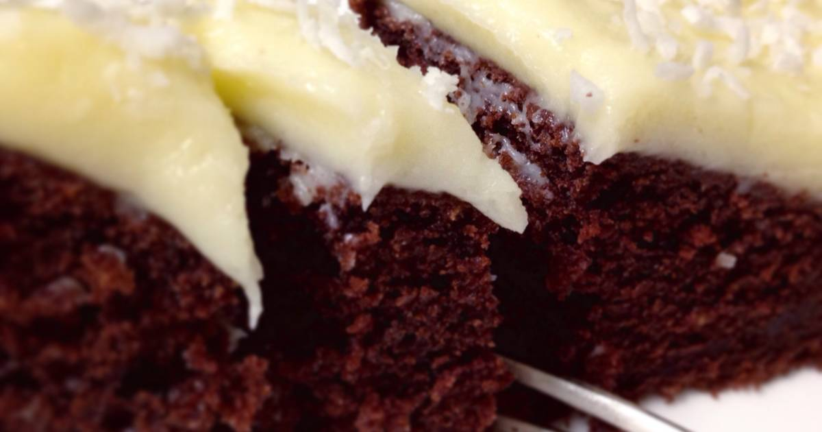 From Scratch Chocolate Cake with Cream Cheese Frosting
