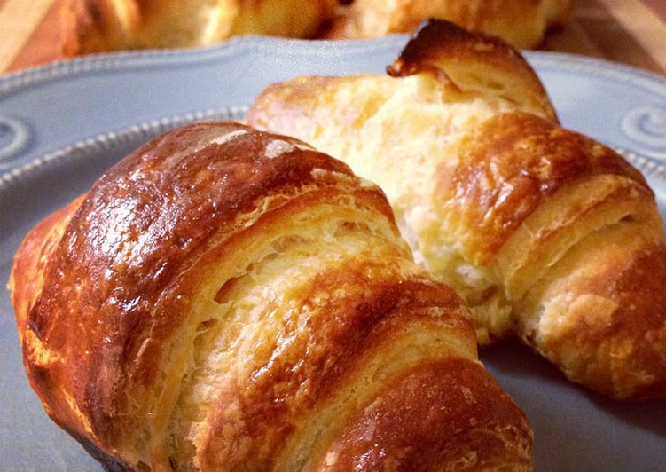 Homemade Croissants Step-by-Step