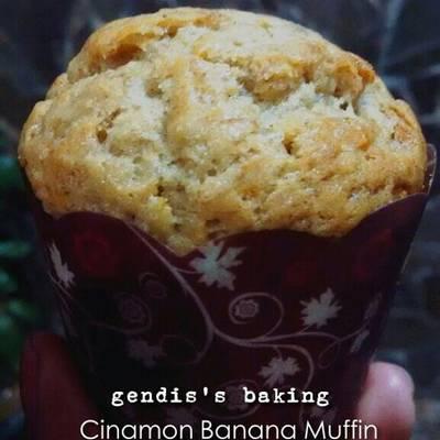 Resep Muffin Pisang Tanpa Telur Cinnamon Banana Muffin Oleh Ndaru Gendis Shinta Cookpad