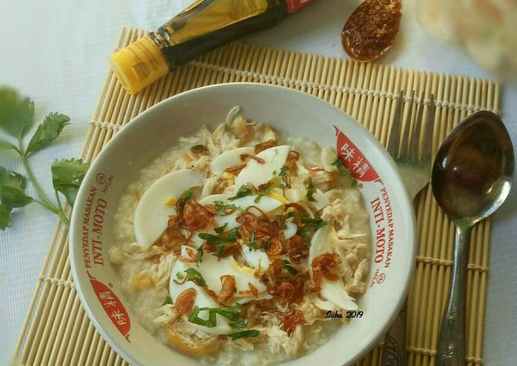 Resep Bubur Ayam Khas Banjar Bubur Sop Oleh Icha Annisa Septiana Cookpad