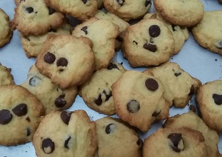 Chocolate Chips & Havermout Cookies
